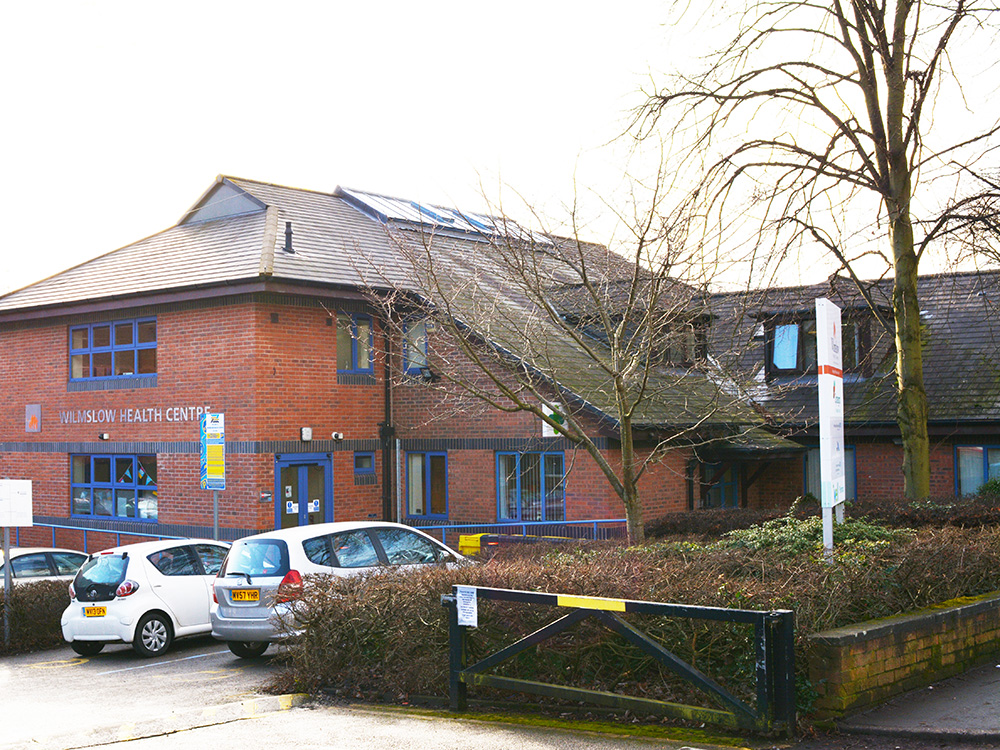 Wilmslow Health Centre Outside